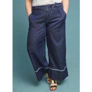 Anthro Pilcro & Letterpress Hi Rise Wide Leg Jeans